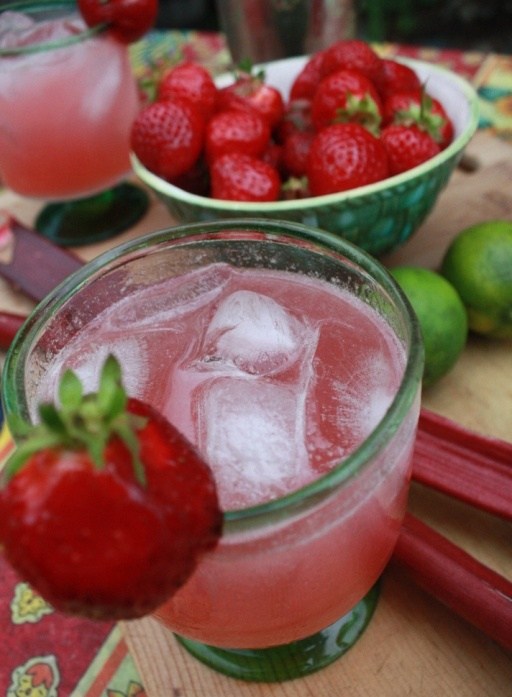 Rhubarb Margaritas!!!   Margaritas   Pinterest