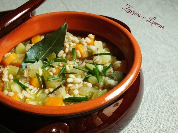 Zuppa+di+orzo+e+verdure