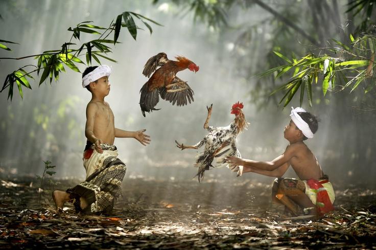 Suradita Village, West Java, Indonesia.