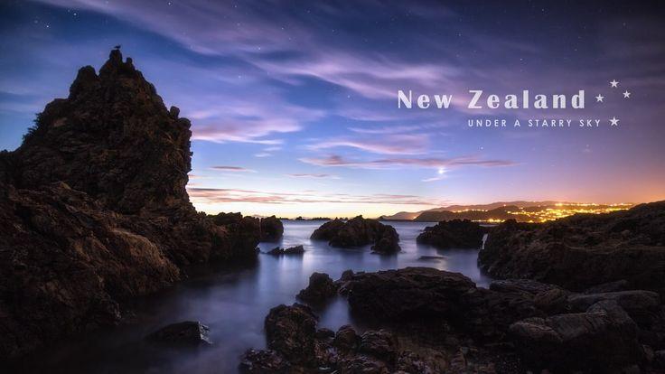 New Zealand Under A Starry Sky on Vimeo