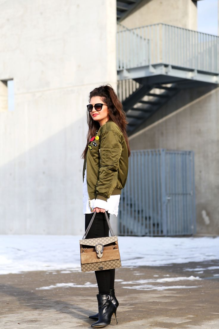 outfit-bomberjacket-sticker-military-gucci-bag-dionysus-winter-look