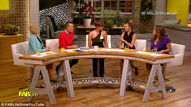 Not-so-FABLife: Chrissy and Tyra shared their problems with their fellow panelists