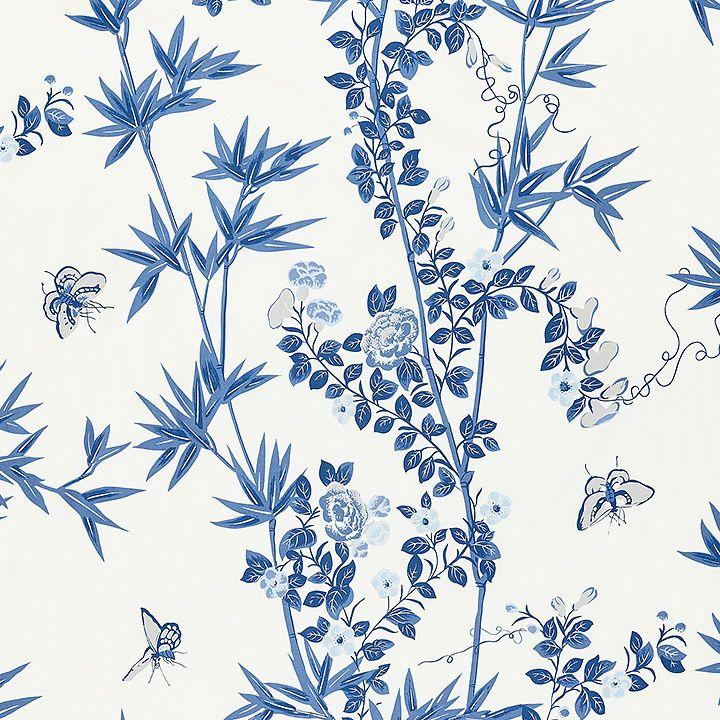 16608 002 Jardin De Chine Porcelain By Scalamandre Scalamandre