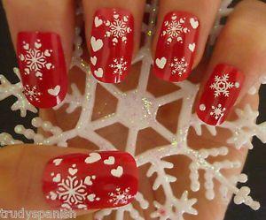 Jual Snowflakes Nail Sticker / Stiker Kuku Motif Salju - Pluvio Shop | Tokopedia