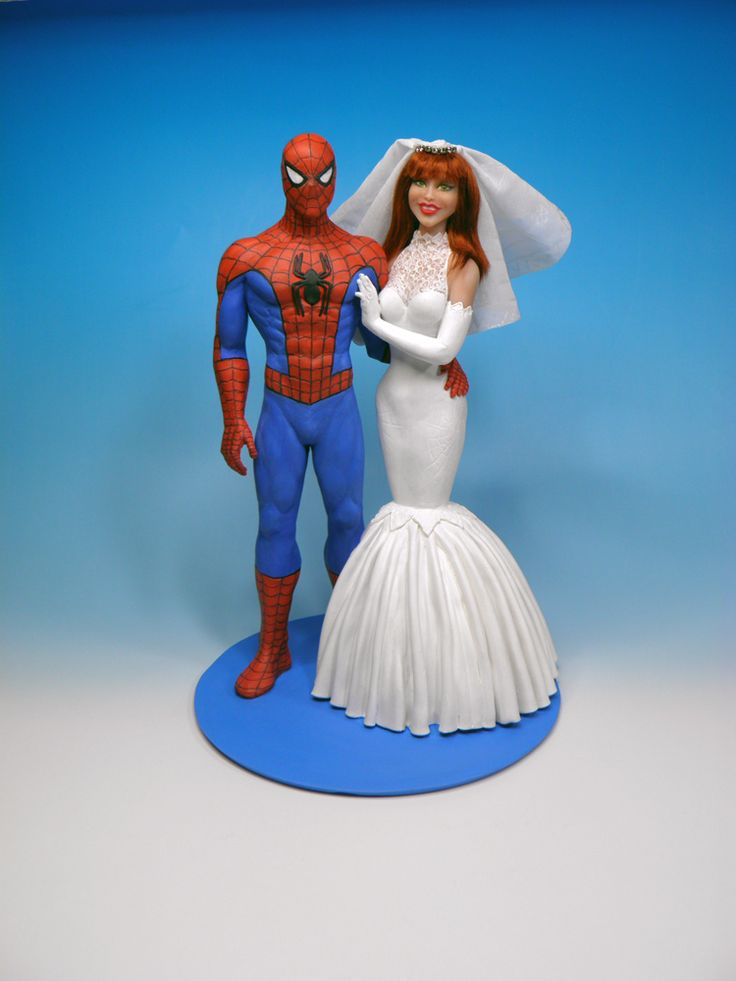 marvel wedding cake toppers 105 best images about custom wedding cake topper on 17218