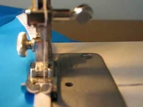 Как легко окантовать срезы эластичных материалов с помощью специальной тесьмы