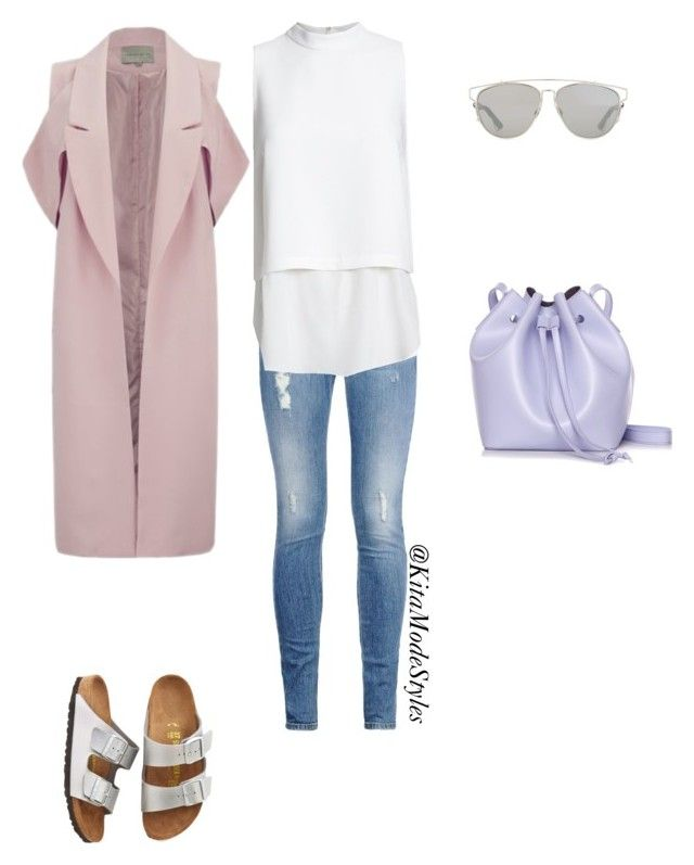 Past-Elle by kitamode on Polyvore featuring Elizabeth and James, Lavish Alice, STELLA McCARTNEY, Birkenstock, Rachael Ruddick and Christian Dior