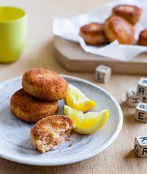 Recipes | Salmon Cakes | Louise Fulton Keats