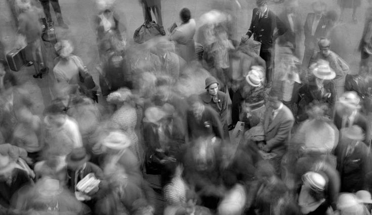 Paul Himmel Grand Central 3, New York, 1947 ... – Facie Populi ™