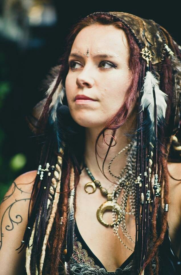 Bohemia dreads - Wow, I love this look.