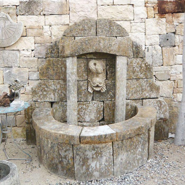 1000 id es sur le th me fontaine murale sur pinterest fontaines de jardin fontaine jardin et - Bassin ancien de jardin orleans ...