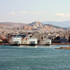 VISIT GREECE| Piraeus city and port #greece #attica #port #Piraeus #travel