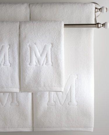 Auberge Initial Towels