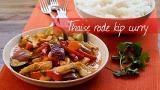 Thaise rode kip curry @ http://allrecipes.nl