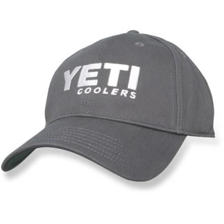 Yeti Low Profile Hat Gunmetal Gray. Great for people who like their hats to ride lower on their head.