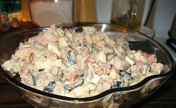 Салат из куриной печени с помидорами | Про рецептики - лучшие кулинарные рецепты для Вас!