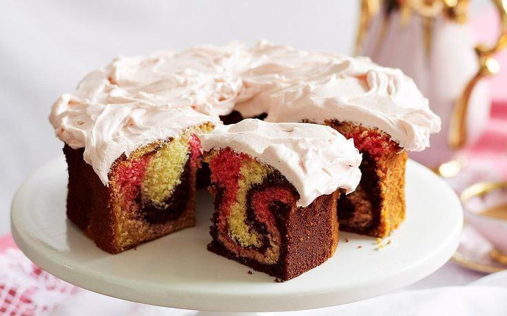 Whether you're baking for a high tea, party or simply a treat this classic cake will delight in taste and appearance. Recipe by the Australian Women's Weekly.
