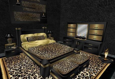 Animal Print Accessories | ... integrating a leopard patterned furniture in leopard bedroom decor is