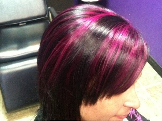 how to style my hair like pink 1000 ideas about funky highlights on 6005