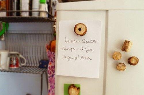 Imãs de geladeira com Gravetos | Reciclagem no Meio Ambiente