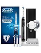 Oral-B GENIUS 9000 Black Electric Toothbrush Powered By Braun