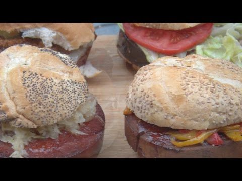 No Boloney Bologna Burgers Recipe | BBQ Pit Boys