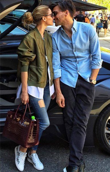 Olivia Palermo Has The Look Of Love In Silk Bomber Jacket We Can't Stop Talking About - Trend Style