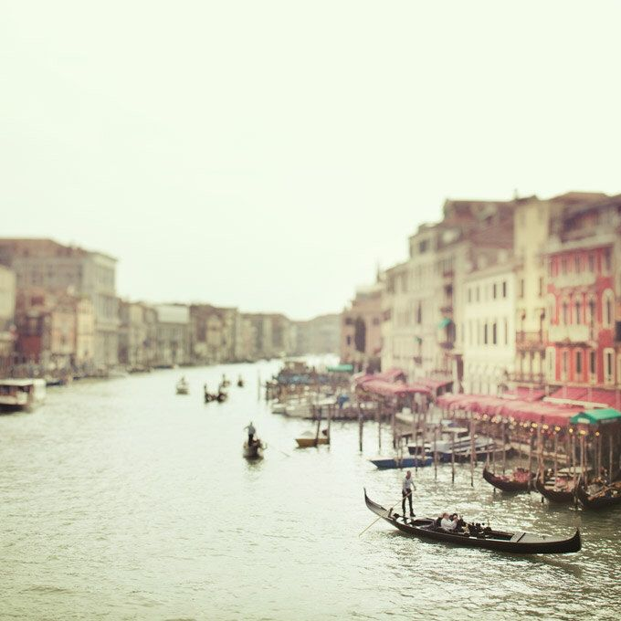 Italy Art, Venice Photography, Grand Canal Gondolas, Dreamy Romantic Travel Photography, Pastel Mint Green, Venice Italy 8x8 by EyePoetryPhotography on Etsy https://www.etsy.com/listing/90943787/italy-art-venice-photography-grand-canal