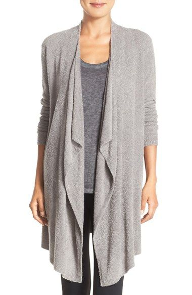 Barefoot Dreams® Drape Front Cardigan (Nordstrom Exclusive) available at #Nordstrom
