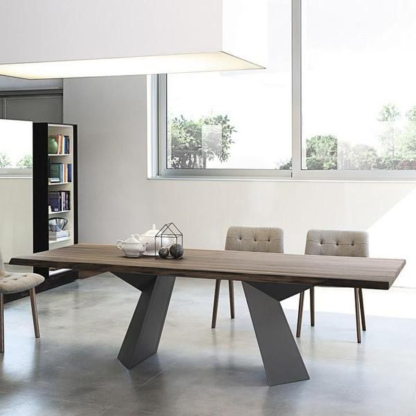 Fiandre Dining Table In 2020 Wooden Dining Tables