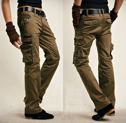 1000  ideas about Khaki Cargo Pants on Pinterest | White cargo ...