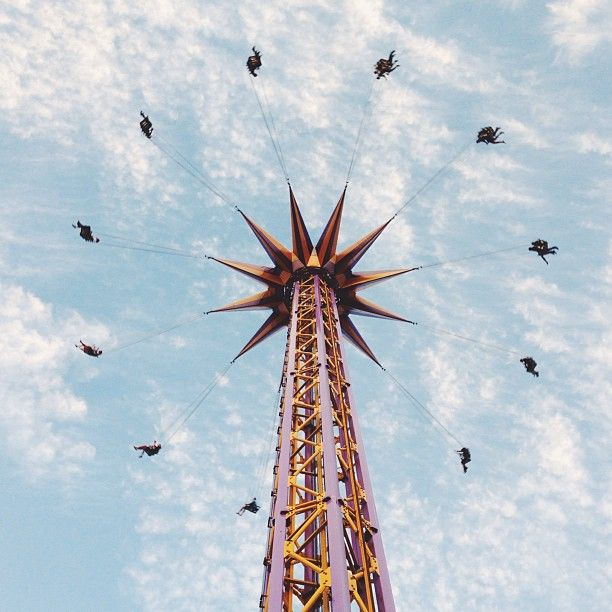 Yesterday was the last day of the #PNE in #Vancouver.  @kauaicupcake snapped this great shot of one of its most recognizable rides. Who made it there this summer? #explorebc