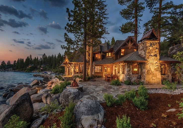 The witch in Hansel and Gretel went all out when she built her home...or is there such a thing as midieval mountain style home? Mountain Home Awards 2014: Elemental Excellence :