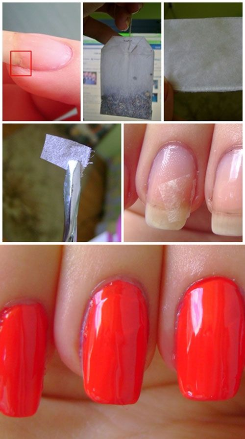 If you have a broken nail there is no need to cut all your nails. Just use the simple method presented here: it just makes wonders. And is so so simple :)