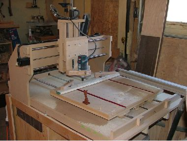 Share photos project gallery home built cnc router cnc for Home built router