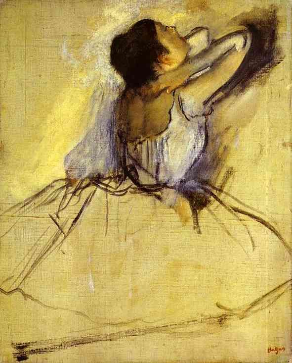 Dancer - Edgar DegasArtists, Ballet Dancers, Inspiration, Degas Dancers, Canvas, Edgar Degas, Oil Painting, Art Painting, Drawing