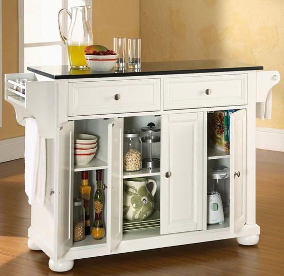 Amazing White Kitchen Cart Kitchen Carts Kitchen u Dining Room Furniture HomeDecorators