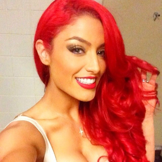 #allredeverything   Eva Marie - All Red Everything #WWE ...