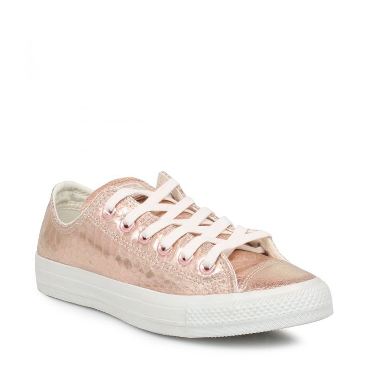 Converse Womens Chuck Taylor Rose Gold Trainers
