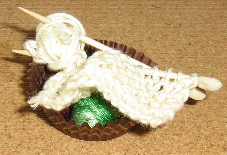 knitting for Amelia