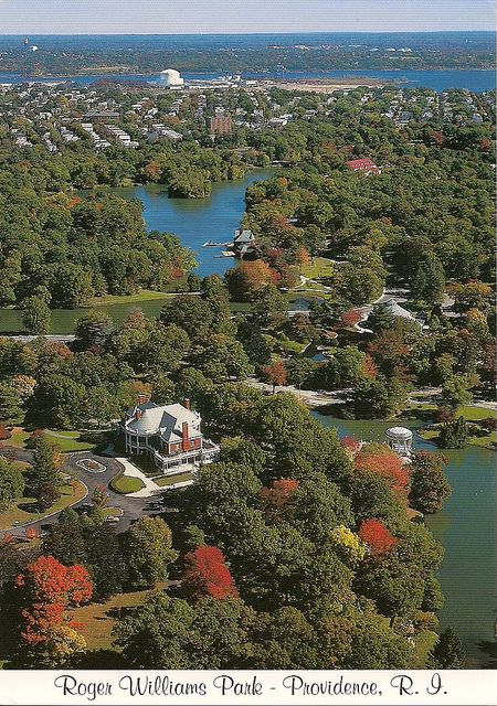 Roger Williams Park- Providence, Rhode Island | City Park, National Register of Historic Places