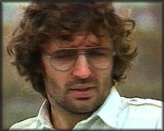 David Koresh, leader of the Davidian cult at Waco, Texas. In 1993 Janet Reno, Attorney General at the time, began a 51 day siege on the compound which ended on April 19 with a fire that killed 76 people, including children.