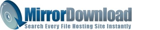 Mirror Download is a simplified search engine for mirror uploads. You can now search every major file hosting site instantly! Mirror Download is a tool which allows users to find freely available files from all around the web, including RapidShare, MegaUp