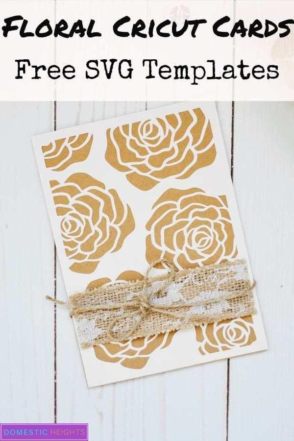 Love Card Ideas With Free Templates Domestic Heights Love Cards Handmade Cricut Anniversary Card Card Design Handmade