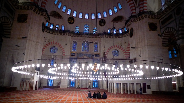Blue mosque by ampersandyslexia, via Flickr