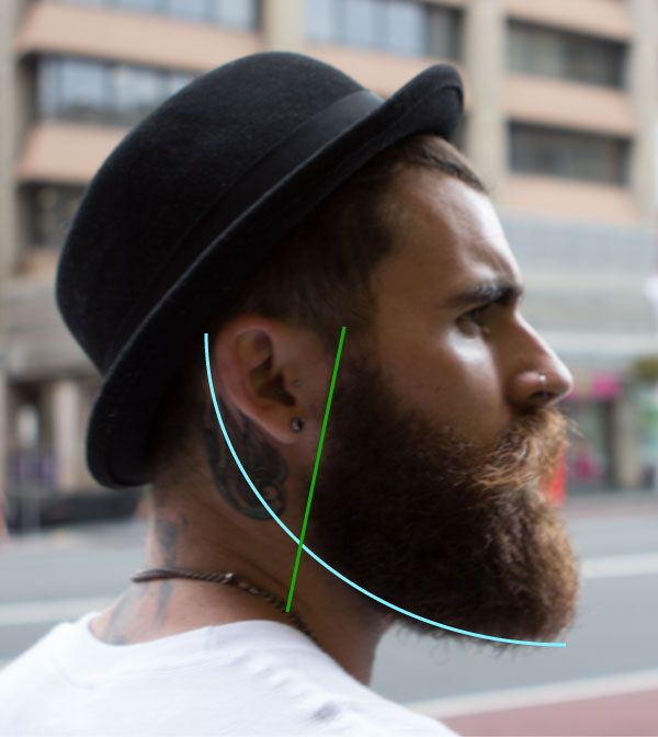 how to trim your beard sideburns