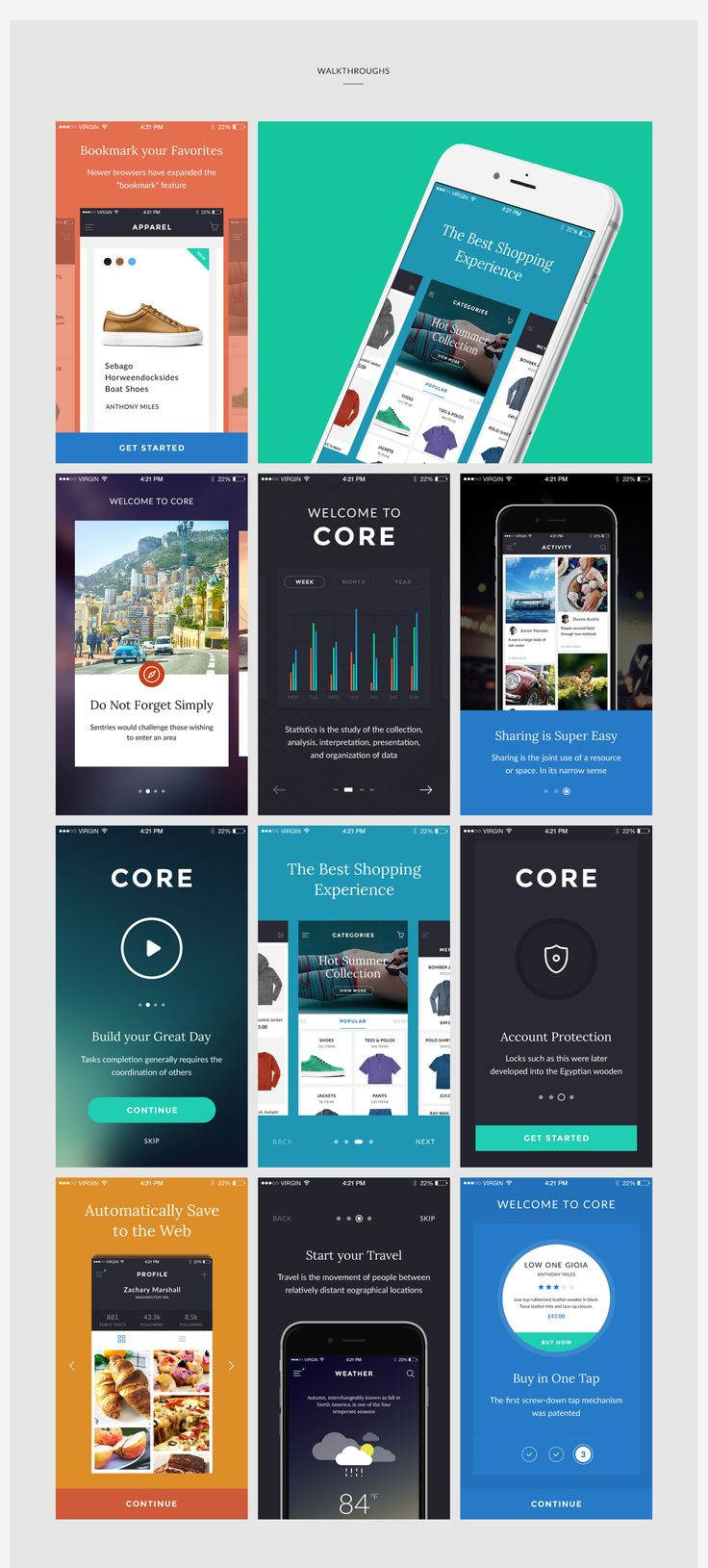 Fully editable UI Kit allows you to create the best design workflow for your projects.120+ iOS high quality screens divided by 9 most popular categories allows to design your projects without any effort.Fully Layered Files Including Artboards to work …