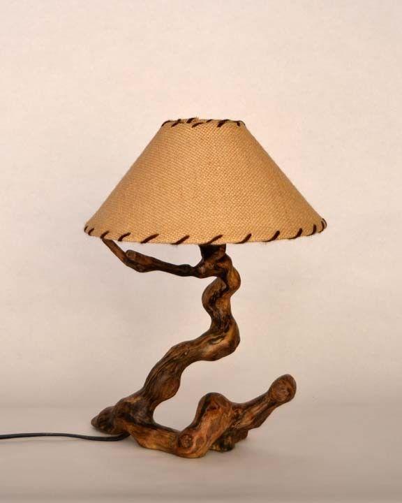 56 melhores imagens de l mpadas no pinterest candeeiros - Lamparas de pie rusticas de madera ...