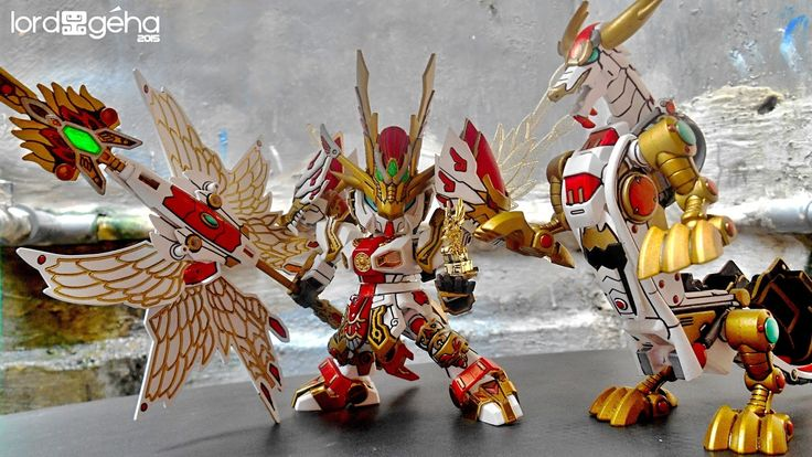 SD Gundam Dynasty Warrior ZHUGE LIANG (Kong Ming - The Sleeping Dragon) by GeHa Lord