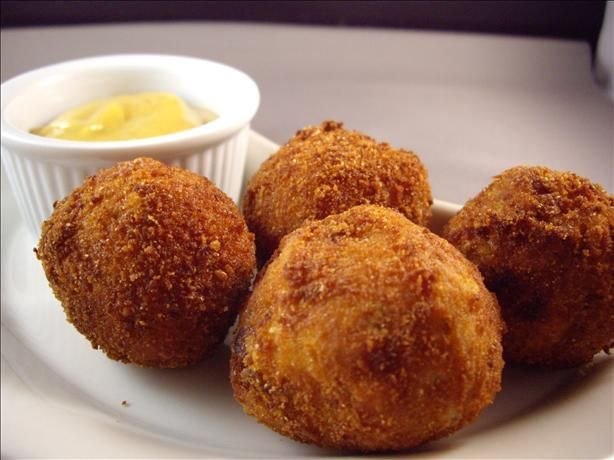 Sounds Odd but...Sauerkraut Balls?  Everyone on this site raved over them, even people that didn't like sauerkraut!